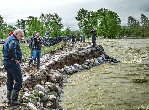 Паводковая обстановка в Хакасии стабилизируется