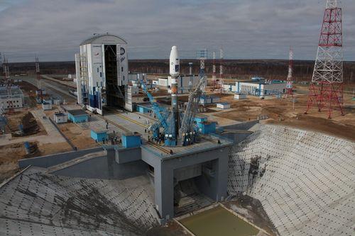 Напервом пуске ракеты «Союз» сВосточного будет присутствовать Путин