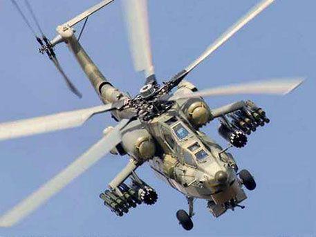 Русский боевой вертолет Ми-28Н разбился вСирии