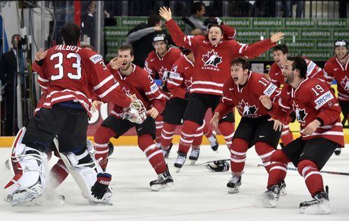 Канада выиграла чемпионат мира по хоккею