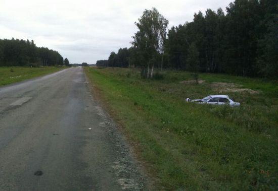 ВНовосибирской области перевернулась иностранная машина сподростками, погибла девушка