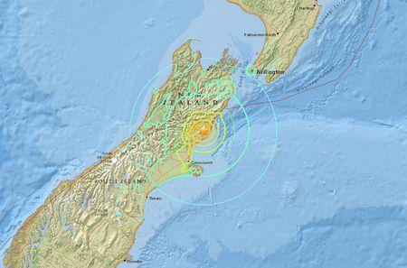 Уберегов новоиспеченной Зеландии случилось мощное землетрясение