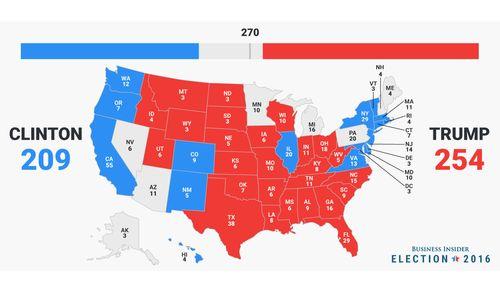 Тенденция поменялась - Трамп опередил Клинтон
