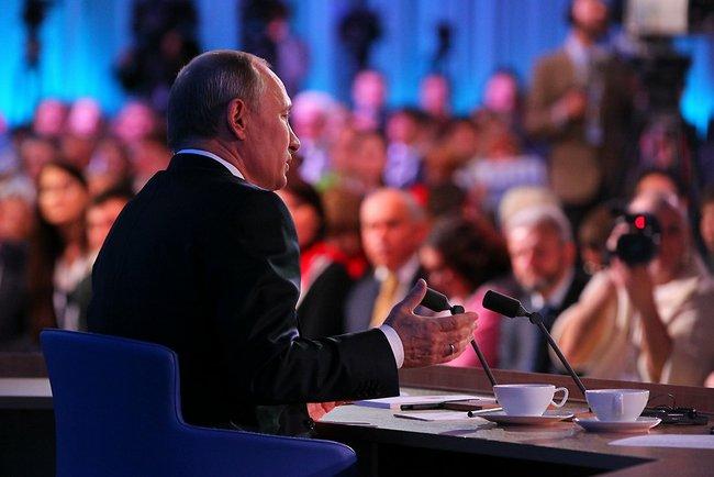 Президент Путин расскажет о реальном  ибудущем страны 1декабря