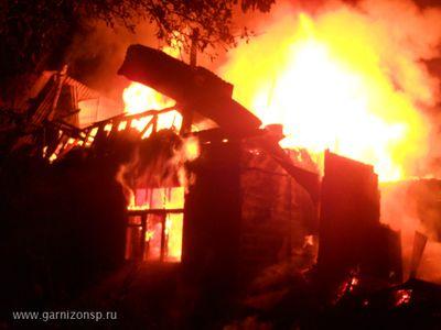 ВКрасноярском крае впожаре погибла старая супружеская пара