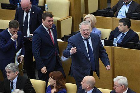 Жириновский: Слова орасстреле депутатов были фигурой речи