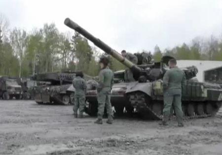 Украинские танкисты успешно выступили втанковых соревнованиях вГермании
