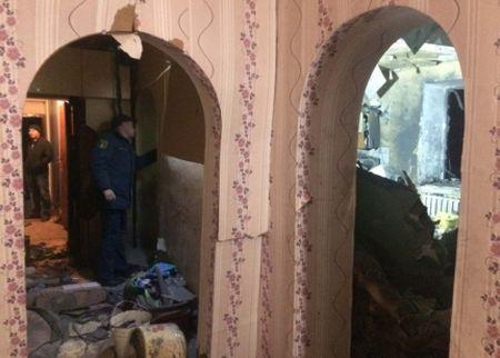 При обрушении стены жилого дома вХакасии пострадали люди