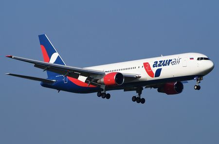 Боинг 767-300 авиакомпании Азур Эйр