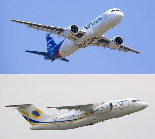 В Воронеже прекращают сборку российско-украинского самолета Ан-148