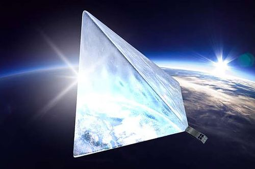 Русские ученые планируют запустить спутник, который будет самой яркой звездой внебе