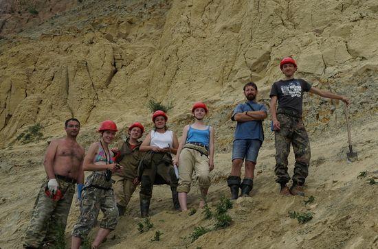 Новое захоронение динозавров имамонтов найдено вКрасноярском крае