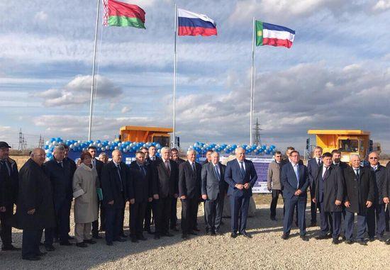 ВХакасии построят 1-ый сервисный центр «БелАЗ»