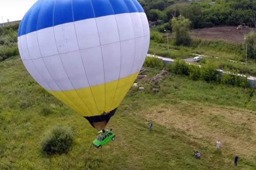 Новосибирца оштрафовали за«Оку» вместо корзины навоздушном шаре