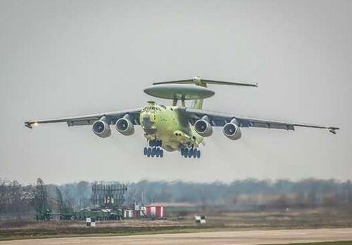 Самолёт радиолокационного дозора А-100 совершил 1-ый полёт