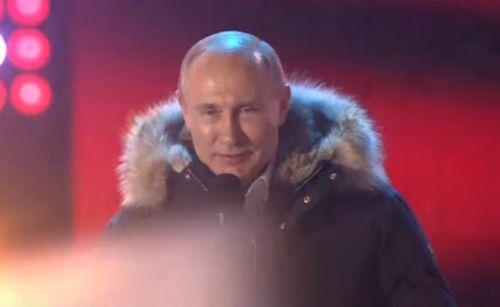 После обработки 99% протоколов Путин набирает 76,65% голосов— ЦИК РФ