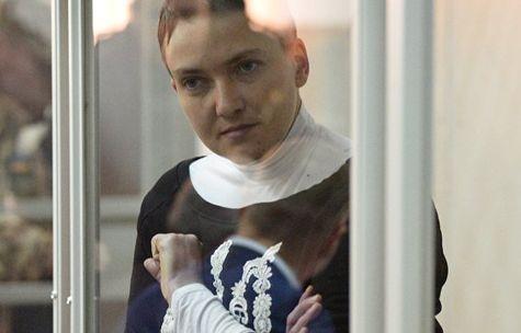 Савченко задержана вздании Верховной рады