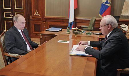 Владимир Путин и Виктор Зимин