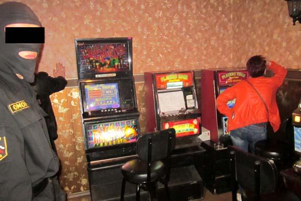 Подпольные игровые автоматы
