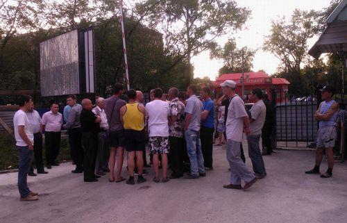 Бунтр строителей нового корпуса ресбольницы в Абакане