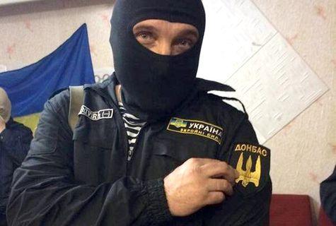 "Семен Семенченко, командир батальона нацгвардии ""Донбасс"""
