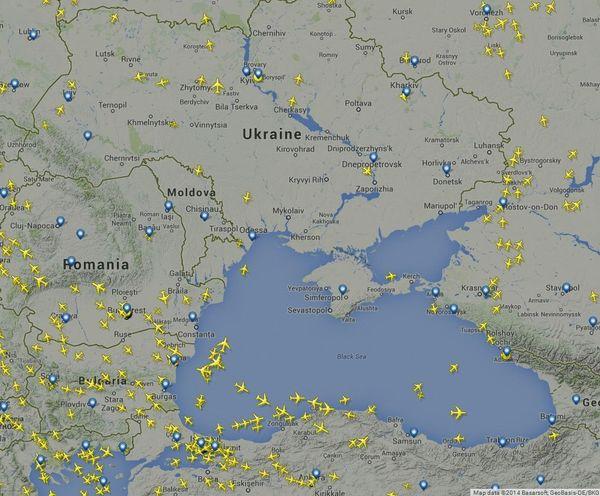 На Украине разбился Боинг 777